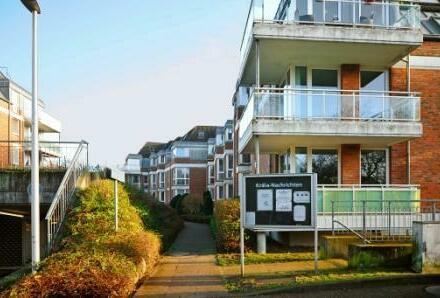 Schicke 2 Zimmer Wohnung mit Balkon nahe dem Stadtzentrum Schenefeld- sofort frei