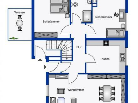 3-Zimmer mit Garten - Erdgeschoss im Zweifamilienhaus