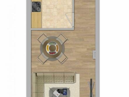1-Zimmer-Wohnung mit Balkon - Neubau