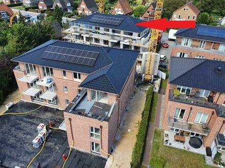 Neubau / Erstbezug! 2-Zimmer-Komfort-Wohnung mit Balkon im 1.OG