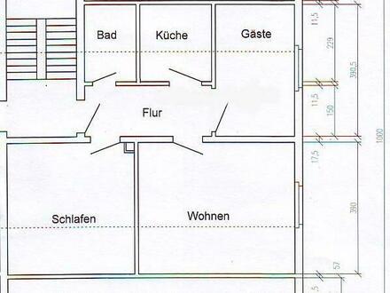 2,5 Zi.-DG-Whg. mit Einbauküche in BS- Schapen
