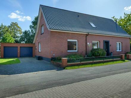 KVBM bietet an: Sehr schönes Einfamilienhaus mit Doppelgarage in Gildehaus