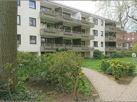 Horn/Lehe - Höhe der Horner Mühle  Ruhige 3 Zi Wohnung mit 2 Balkonen, 2 Bädern, Keller, Tiefgarage