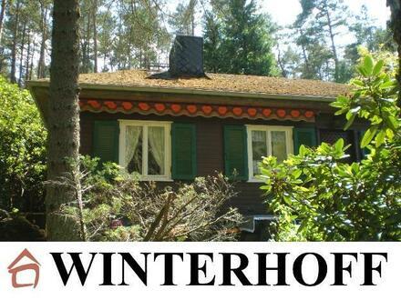 Jagdhaus / Architektenhaus: im Wald und auf der Heide...