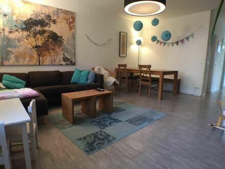 3-Zimmer-Terrassenwohnung in zentraler, grüner und ruhiger Lage
