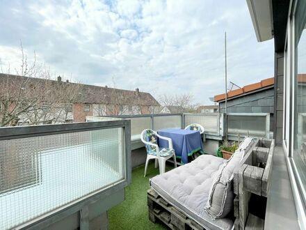 Großzügige + helle 1-Zimmer-Wohnung mit guter Aufteilung & sonnigem Balkon - PROVISIONSFREI