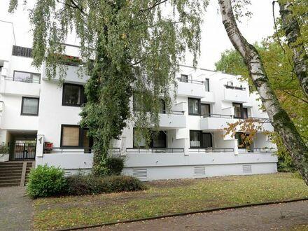 Helle 1-Zimmer-Wohnung mit sonnigem Balkon und Blick ins Grüne