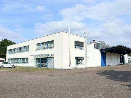 588 m² große Gewerbehalle mit moderner Verwaltungsebene