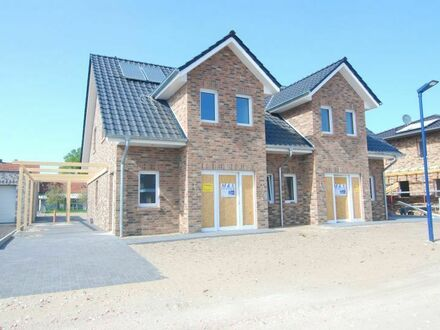 Moderne Neubau Doppelhaushälfte !