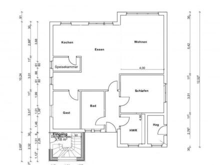 In Kürze fertig: Modernisiertes Erdgeschoss im Zweifamilienhaus