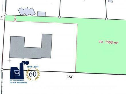 Baugrundstück für Ein- oder Mehrfamilienhaus (bis zu 550 m² Wohnfläche!)