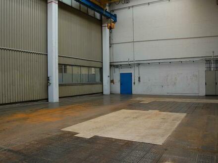 Lager-/Produktionshalle mit Portalkran (20t Traglast)