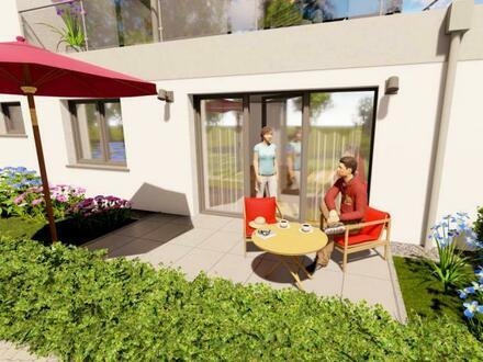 Wohlfühlen ! Citywohnung mit viel Licht, Terrasse und Garten !