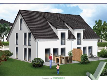 Großes Ausbauhaus (Doppelhaus) inkl. Keller
