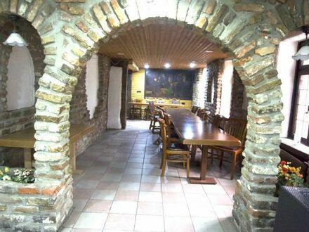 Charment Ländliche Idylle, Cafeteria mit Frühstück, Brunch Angebot ohne Warme Speisen, des Historische Alte Fährhaus su…