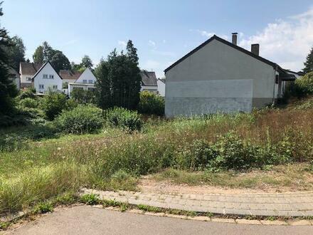 tolles Baugrundstück in Südlage am Ortsrand von Saarbrücken-Gersweiler