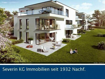 Exklusive Erdgeschosswohnung mit Terrasse und Sondernutzungsrecht am Garten!