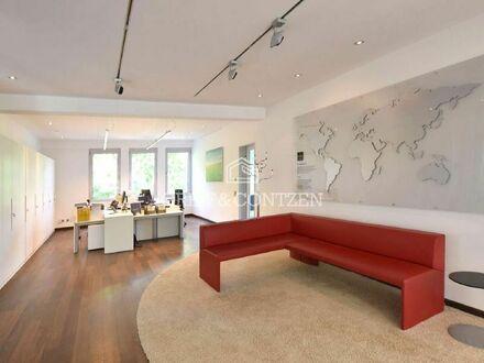 Rheinaue: Einzigartiges Industrieloft mit Park zur Büronutzung