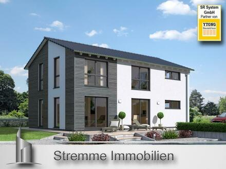 Großzüges, modernes Einfamilienhaus mit zeitloser Gestaltung – Neubau - schlüsselfertig – massiv