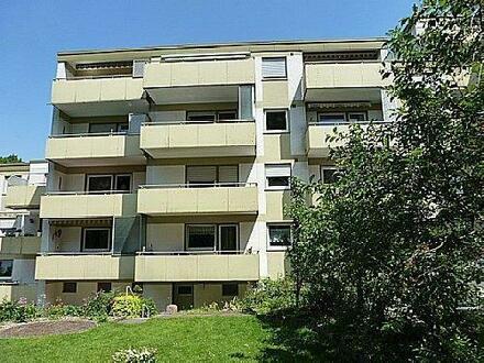 Citynahe, ruhige Singlewohnung mit großem Balkon
