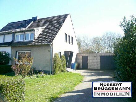 Doppelhaushälfte mit Garage in ruhiger Wohnlage