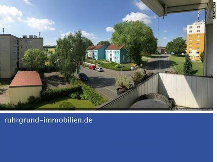 Wickede! Sanierte ETW mit Balkon & Fernblick ins Grüne