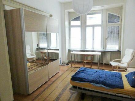 Möbliertes Zimmer in Jugendstilhaus , Nauwieser Viertel
