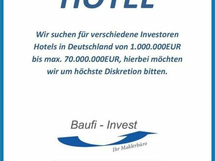 Für Investoren Hotel gesucht