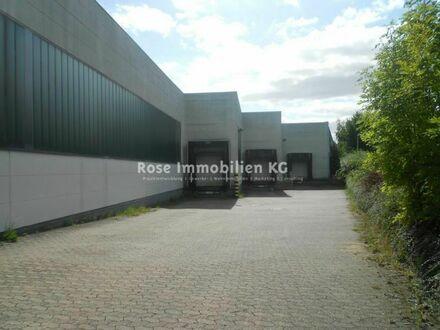ROSE IMMOBILIEN KG: Lagerhalle mit sehr guter Anbindung an die A 30
