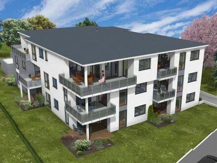 VERKAUFT!!! Exklusive Neubauwohnung mit großer Dachterrasse in Bad Oeynhausen-Süd!