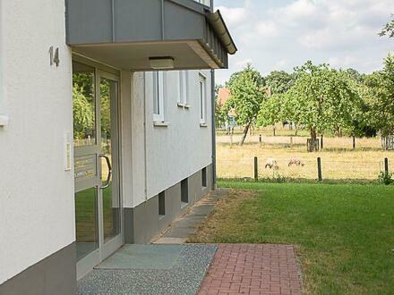 Schönes Wohnen in Adolphsheide, helle 4,5 Zi-DG-Whg mit Balkon, Küche, Garage