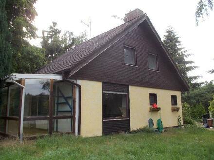 Freizeit/Wohnen - Wochenend-Haus (EFH) in der idyllischen Natur im Wochenendgebiet !
