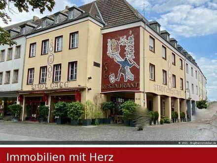 Wohn- und Geschäftshaus - 1A - Sehr gut eingeführtes Café über 2 Etagen plus 4 Wohnungen