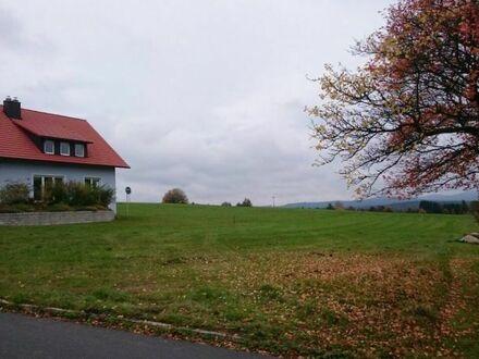 Traumhaft schönes Baugrundstück in Fichtelberg / Hüttstadl