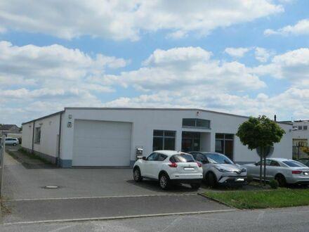 Sommerangebot Bj. 2008 Halle ca.380 m² + Büros rd.120 m² auf ca.2.330 m² Kaufgrundstück im GE-Gebiet
