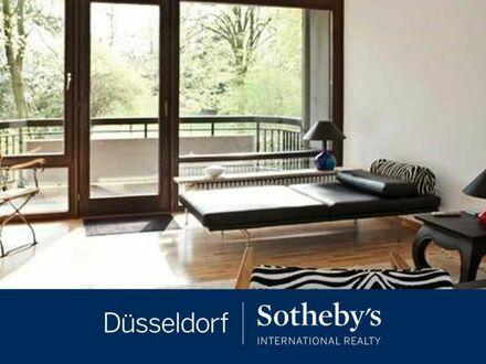 Schick möblierte 2-Zimmer-Wohnung mit Blick in den Hofgarten