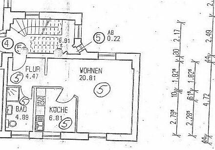 Gelegenheit! 1,5 Raum-Eigentumswohnung zur Anlage in Gelsenkirchen-Erle