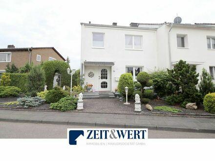 Erftstadt-Lechenich! Sonnenhelles Miet-Einfamilienhaus mit viel Platz, liebevoll angelegtem Südgrundstück und Garage in ruhiger…