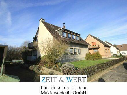 Weilerswist! Freistehendes Zweifamilienhaus mit wunderschönem Sonnengarten in absoluter Ruhigstwohnlage! 2 Garagenstellplätze…