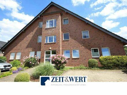 Erftstadt-Dirmerzheim! Helle, moderne 3-Zimmer Wohnung mit hervorragendem Grundriss, Balkon, Sonnenloggia und PKW-Stellplatz…