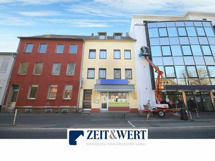 Gelegenheit für Profis! Vermietetes Wohn- und Geschäfthaus in Hürth-Efferen (MB 4014)
