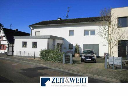 Lechenich-Dirmerzheim! Ruhige sonnige Wohnlage! Stattliches weißes 6-Zimmer-EFH mit offenem Kamin, Sonnengarten + Garage!…