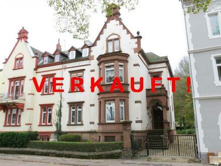 VERKAUFT! Investoren! Stilvolles Haus mit bebaubarem Grundstück