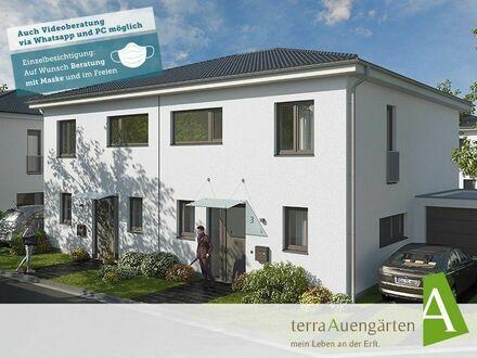 135m² – Ihr Einfamilienhaus als Doppelhaushälfte in Euskirchen Stotzheim - terra135v