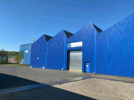 Produktions- und Lagerhalle mit Büroräumen in Top-Lage an der B 256.