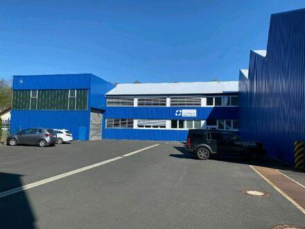 2 Produktions- und Lagerhallen mit Büroräumen in Top-Lage an der B 256.