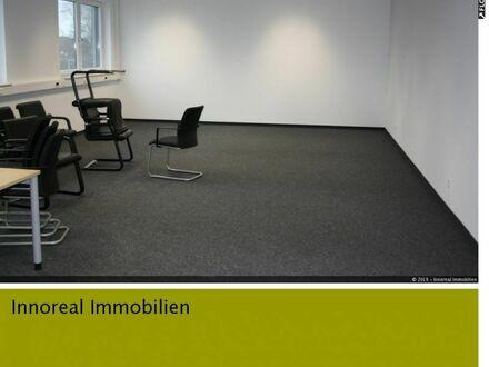 Barrierefreie und bezugsfertige Bürofläche (4 Büros, ca. 206 m²) mit moderner Ausstattung