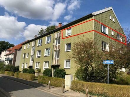 Ideal für Kapitalanleger! Ruhig gelegene 3 ZKB-ETW mit Balkon, Nähe Petripark in Bielefeld-Heepen!