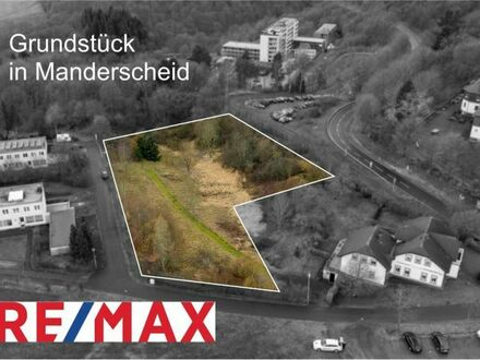 REMAX - Manderscheid Am Tannenhain offeriert Bauland und Grünfläche mit freien Blick nach Süden