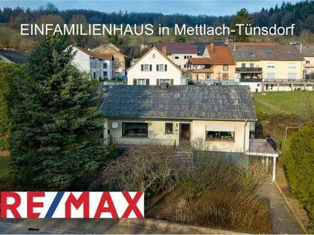REMAX - Einfamilienhaus mit Einliegerwohnung im Dreiländereck von Mettlach-Tünsdorf
